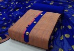 Khadi cotton With Work Dress Material (4pc Set)