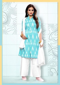 Vee Fab Snow Fall Rayon Kurti With Duppata ( 6 Pcs Catalog )