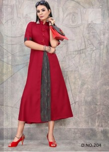 Vee Fab India Crackles Vol-2 Kurtis ( 6 Pcs Catalog )