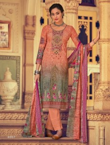 House Of Lawn Gulbahar Dress Material