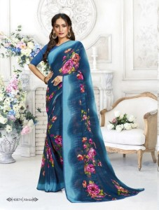 Vipul Sunshine Delight Party Wear Saree ( 18 Pcs Catalog )