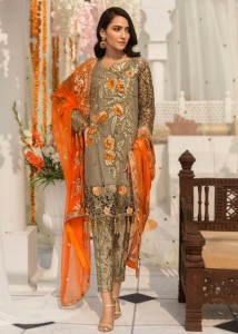 Charizma Mahrukh Vol-1 Dress Material ( 4 pc catalog )
