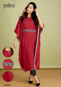 Indira Apparel Kaftan One Piece Collection ( 5 pc Catalog )
