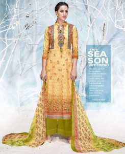 Karachi Print Roman Beauty Dress Material ( 8 Pcs Catalog )