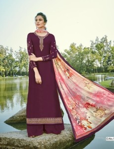 Rsf Gulal Vol-3 Georgette Party Wear Dress Material ( 6 Pcs Catalog )