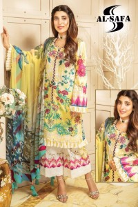 Al-Safa Sana Safinaaz Dress Material ( 2 Pcs Catalog )