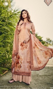 Tanishk Fashion Dilbaro Jaam Satin Dress Material (8 pcs Catalog)