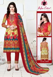 Nafisa Sehnaz Karachi Queen Dress Material ( 10 Pcs Catalog )