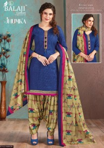 Balaji Cotton Jhumka Dress Material ( 12 Pcs Catalog )