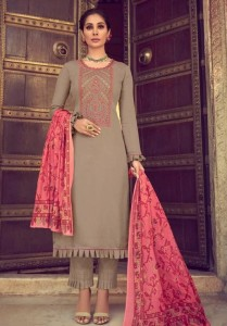 Mumtaz Arts Saanjh Dress Material ( 7 pc catalog )