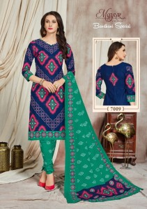 Mayur Creation Bandhani Special Vol-7 Dress Material (A 06 pc catalog)