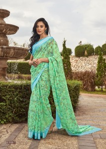 LT Fashion Shruti Soft Linen Saree ( 10 Pcs Catalog )