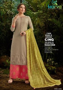 Karva Designer Insta Dress Material