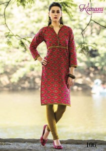 Kanasu Season Cotton Print Kurtis ( 12 pcs Catalog )