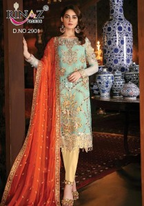 Rinaz Fashion Jazmin Vol-10 Dress Material ( 5 Pcs Catalog )