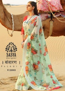 Sasya Palkhi Vol-5 Saree ( 10 Pcs Catalog )
