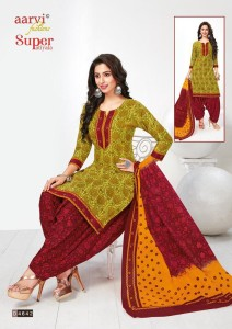 Aarvi Fashion Super Patiyala Readymade Suits ( 6 pc Catalog)