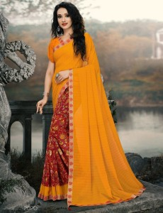 Kodas Golden Jhumke Vol-20 Saree ( 10 Pcs Catalog )