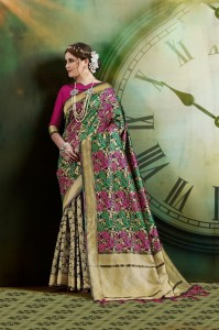 Ynf Manushi Silk Saree ( 5 Pcs Catalog )