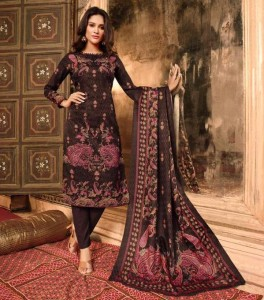 Mumtaz Arts Kasheeda Kari Jam Satin Dress Material ( 10 pc catalog )