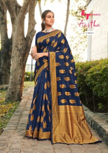 Lt Fashion Aastha Saree ( 5 Pcs Catalog )