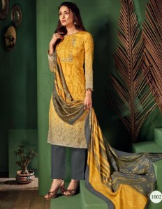 Suryajyoti Shaded Vol-1 Dress Material ( 8 pcs catalog )