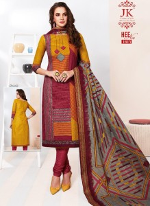 Jk Cotton Heena Vol-16 Cotton Dress Material ( 16 Pcs Catalog )