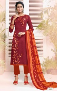 Suryajyoti Nargis Cotton Vol-12 Dress Material ( 10 Pcs Catalog )