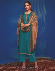 Ganga Waves Dress Material
