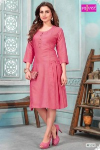 Rajvee Icon Vol-5 Rayon Kurtis ( 8 Pcs Catalog )
