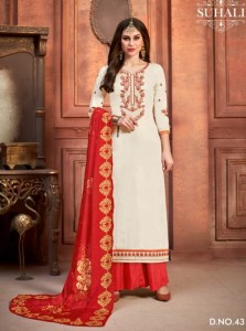 Suhali Navika Dress Material ( 4 Pc Catalog )
