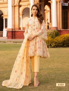 Shree Fab Almirah Vol-5 Dress Material ( 7 Pcs Catalog )