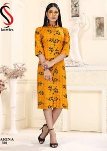 SS kurties Karina Vol-3 Kurtis ( 12 pcs Catalog )