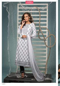 Naariti Kinara Cotton Dress Material ( 7 pc catalog )