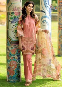 Shree Fab Firdous Vol-6 NX Dress Material ( 5 Pcs Catalog )