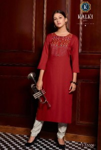 Kalki Fashion Sakhi Vol-2 Kurtis ( 8 pcs Catalog )