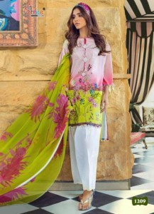 Shree Fab Sana Safinaz Muslin Vol-5 Dress Material ( 5 Pcs Catalog )