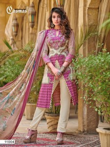 Cosmos  Noor Lawn Collection Vol-2 ( 8 Pcs catalog )