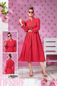 Fashion Talk Malang Rayon Kurtis ( 8 Pcs Catalog )