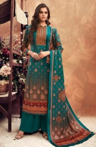 Levisha Muskaan Velvet Dress Material ( 6 Pcs Catalog )