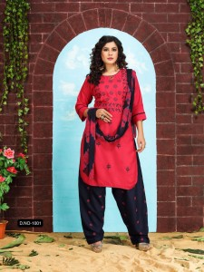 Fashion Talk PATIYALA STYLE VOL.1 Ready Made Suits ( 10 Pcs Catalog )