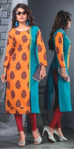 Kanasu Anaya South Cotton Kurtis (08 pcs Catalog )