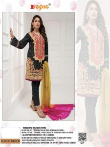 Fepic Rosemeen rosewood Havy Party Wear Suit