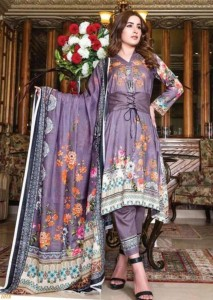 Agha Noor vol-2 Laxury Lawn Collections ( 10 pcs Catalog)