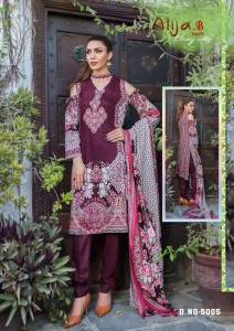 Keval Fab Alija Vol-5 Dress Material ( 6 Pcs Catalog )