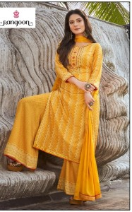 Rangoon Roopkala Readymade Suits (04 pcs catalog )