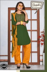 Tamaana Rayon Readymade Suits (06 pcs catalog )