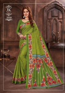 JK TULSI VOL-5 COTTON SAREE ( 20 Pcs catalog )