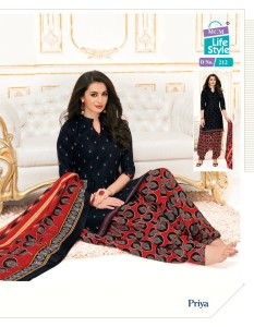 MCM Lifestyle Priya Vol-9 Pure Cotton Readymade Suits ( 30 Pcs Catalogue )