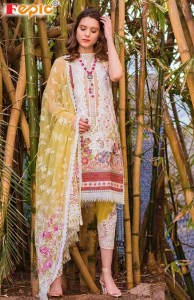 FEPIC ROSEMEEN SOBIA NAZIR LAWN COLLECTION NX CAMBRIC COTTON DRESS MATERIAL ( 4 PCS CATALOGUE )